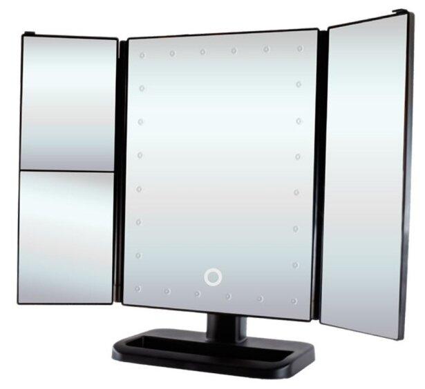 Зеркало косметическое настольное GESS uLike с подсветкой