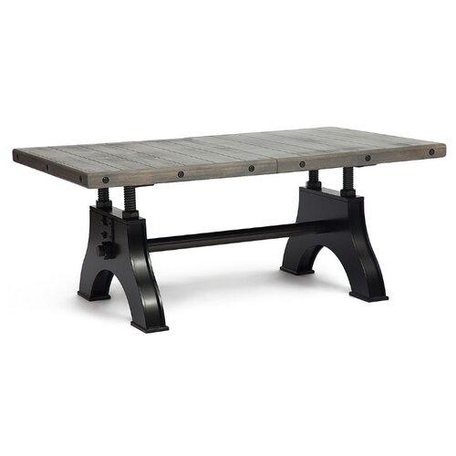 Стол кухонный Secret de Maison Chevalet (mod. 4290-30), раскладной, ДхШ: 182 х 106 см, длина в разложенном виде: 227 см, Античный серый