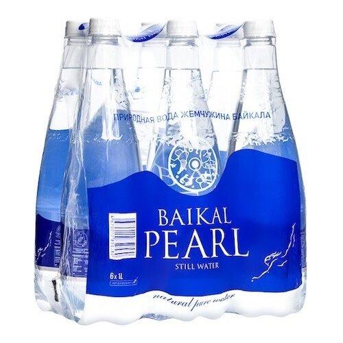 Природная вода Baikal Pearl (Жемчужина Байкала) негазированная, ПЭТ, 6 шт. по 1 л