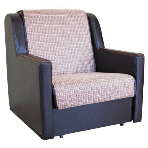 Кресло-кровать Шарм-Дизайн Аккорд Д размер: 90х101 см, , размер спального места: 194х70 см, обивка: комбинированная, цвет: рогожка бежевый