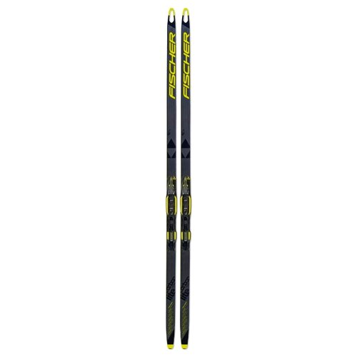 Беговые лыжи Fischer Carbonlite Skate Jr IFP без креплений black/yellow 2019-2020 141 см палки для горных лыж fischer rc4 pro jr 2018 2019 70 black