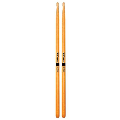 Фото - Барабанные палочки Pro-Mark Classic 5B ActiveGrip Clear барабанные палочки pro mark rebound 7a activegrip