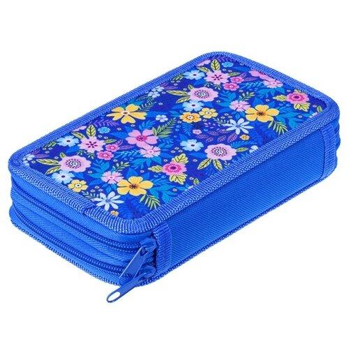 Купить ArtSpace Пенал Цветочное настроение (ПТ2_29115) синий, Пеналы