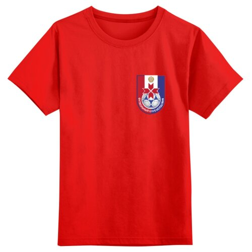 Купить Футболка Printio размер 3XS, красный, Футболки и майки