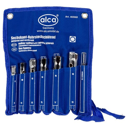 цена на Набор трубчатых ключей ALCA 465060 7 шт.