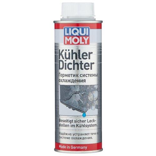 Универсальный герметик для ремонта автомобиля LIQUI MOLY KuhlerDichter 1997, 250 мл бесцветный герметик системы охлаждения kuhler dichter liqui moly 250 мл