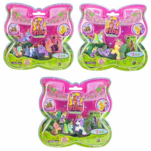 Купить Фигурки Filly Butterfly Glitter Волшебная семья M770041-3850, Игровые наборы и фигурки