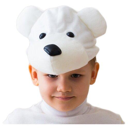 Купить Маска Бока Белый мишка, белый, Карнавальные костюмы