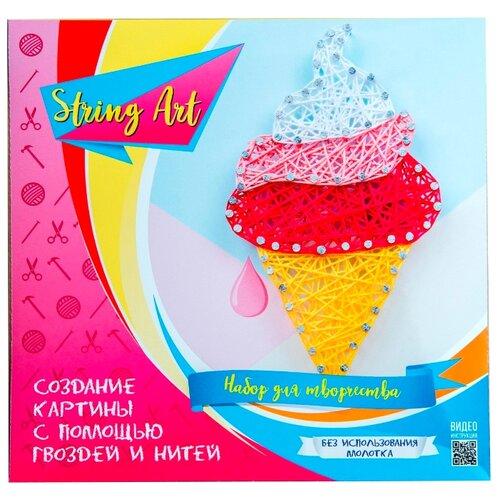 Купить String Art Lab Набор для творчества Мороженка (П002), Поделки и аппликации
