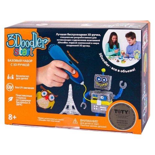 Купить 3D-ручка 3Doodler Essentials 3D Printing Pen Set (E-Comm) синий, 3D-ручки