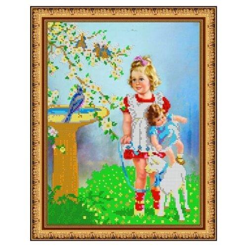 Купить Диамант Набор алмазной вышивки Весенний день (ДК-411) 30х38 см, Алмазная вышивка
