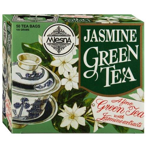 Чай зеленый Mlesna Jasmine в пакетиках, 50 шт. чай зеленый mlesna в пакетиках 50 шт