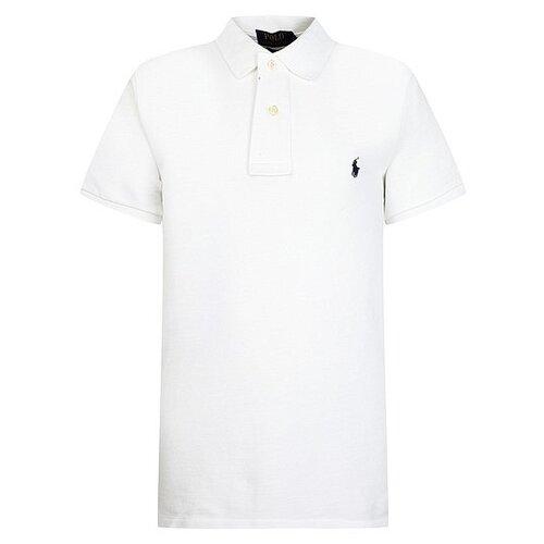 Купить Поло Ralph Lauren размер 92, белый, Футболки и рубашки