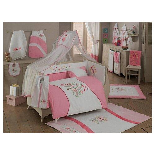Купить Комплект из 6 предметов серии Sweet Home (Pink), Kidboo, Постельное белье и комплекты