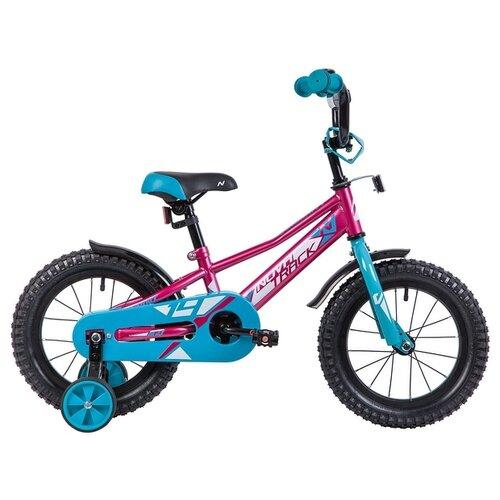 Детский велосипед Novatrack Valiant 14 (2019) красный (требует финальной сборки) велосипед novatrack valiant черный 20