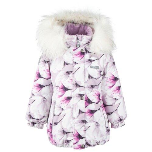 Купить Куртка KERRY Emmy K20431 размер 134, 1220 розовый/белый, Куртки и пуховики