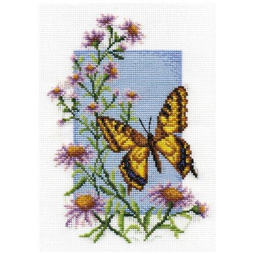 Купить PANNA Набор для вышивания Махаон 13 х 19 см (Б-0116), Наборы для вышивания