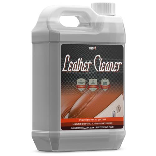 Megvit Очиститель кожи салона автомобиля Leather Cleaner, 5 л