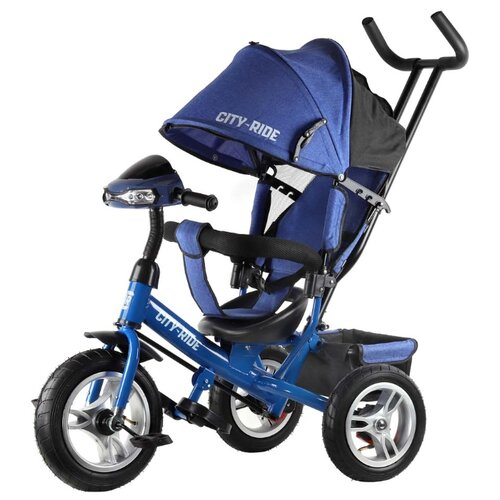 Трехколесный велосипед CITY-RIDE CR-B3-05 синий