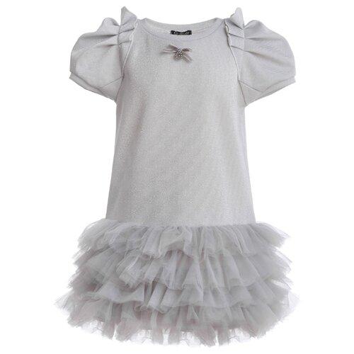 Купить Платье Gulliver размер 104, белый, Платья и сарафаны