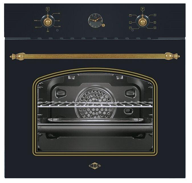 Электрический духовой шкаф MBS DE-606BL — купить по выгодной цене на Яндекс.Маркете