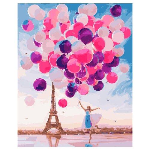 Купить ВанГогВоМне Картина по номерам Разноцветные шары , 40х50 см (ZX 21189), Картины по номерам и контурам