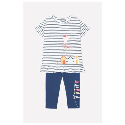 Фото - Комплект одежды crockid размер 74, синий/белый комплект одежды crockid размер 74 белый розовый