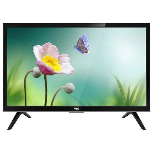 Телевизор TCL LED24D2910 24 (2019) черный/серебристый телевизор hitachi 24he1000r 24 2019 черный