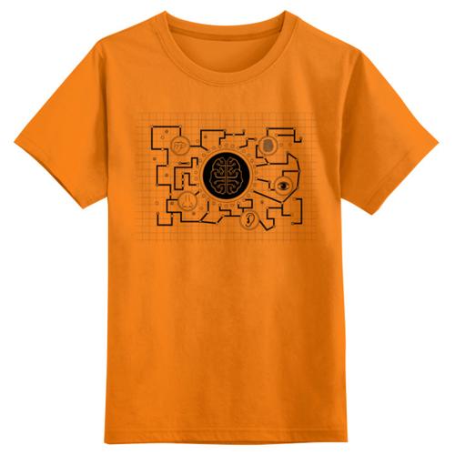 Купить Футболка Printio размер 2XS, оранжевый, Футболки и майки