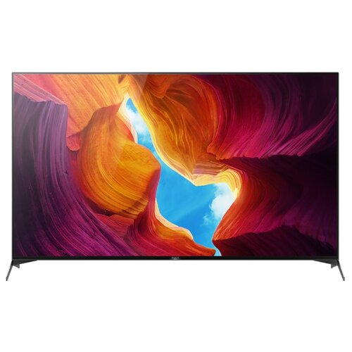 Фото - Телевизор Sony KD-75XH9505 75 (2020) темно-серебристый телевизор