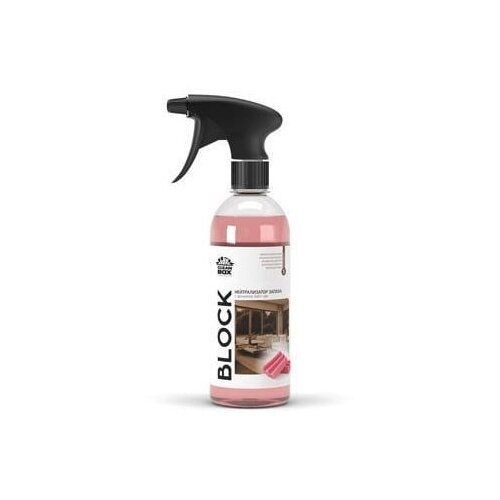 Clean Box Нейтрализатор запаха спрей BLOCK с ароматом Бабл гам, 0,5л