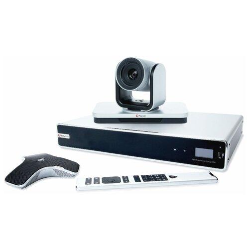 Терминал видеоконференцсвязи Polycom RealPresence Group 700 (7200-64270-114) серебристый