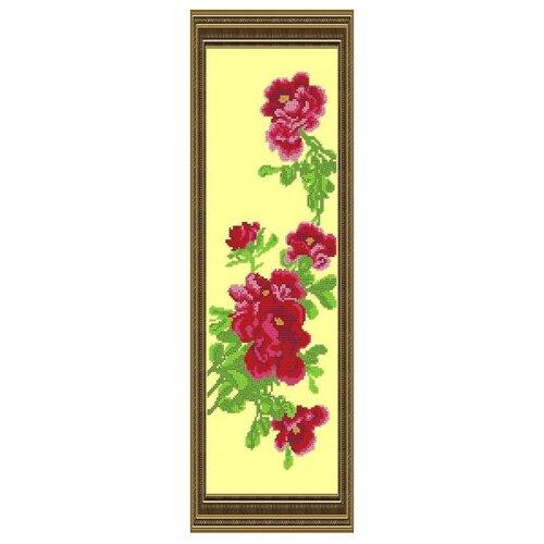 Светлица Набор для вышивания бисером Цветок 14,9 х 47,8 см (041)