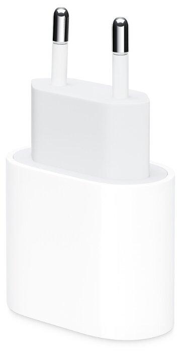 Сетевая зарядка Apple MHJE3ZM/A, белый фото 1