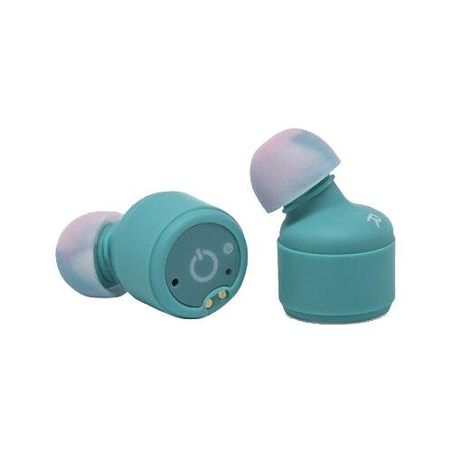 цена на Беспроводные наушники Smarterra AT600C голубой