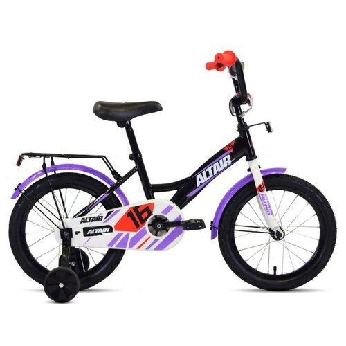 Детский велосипед ALTAIR Kids 16 (2020) черный (требует финальной сборки)