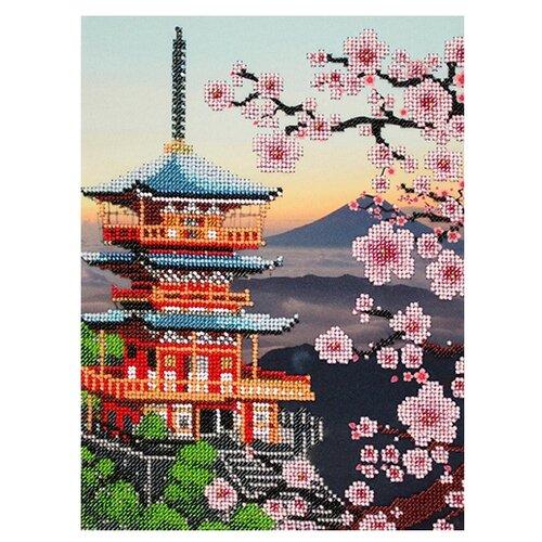 Купить Созвездие Набор для вышивания бисером Япония 20 х 27 см (АГД-104), Наборы для вышивания