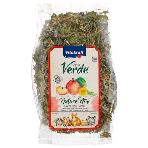 Лакомство для грызунов Vitakraft Vita Verde Nature Mix одуванчик и яблоко 80 г