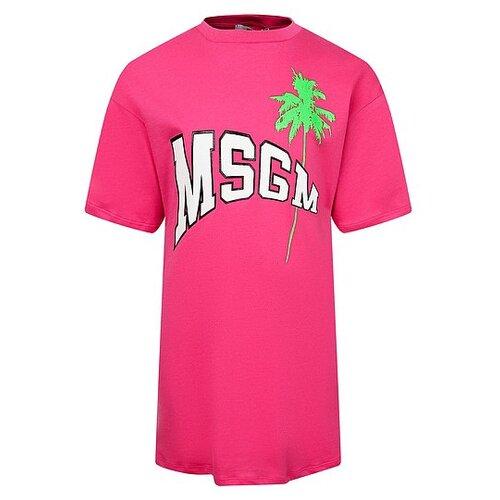 Платье MSGM размер 140, розовый