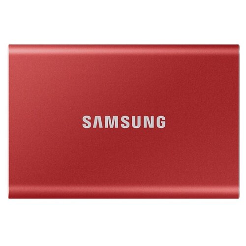 Внешний SSD Samsung Portable SSD T7 2 ТБ красный