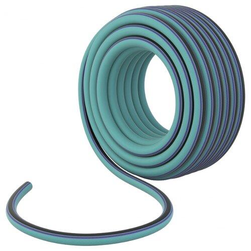 Шланг PALISAD Luxe 4-х слойный 1/2 25 метров голубой шланг palisad 4 х слойный 1 2 15м luxe 67635