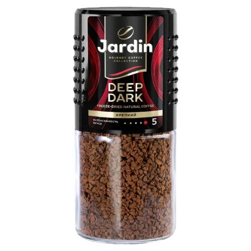 Кофе растворимый Jardin Deep Dark, стеклянная банка, 95 г