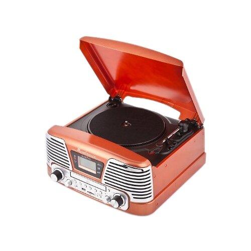 Виниловый проигрыватель PlayBox PB-106D Montreux оранжевый
