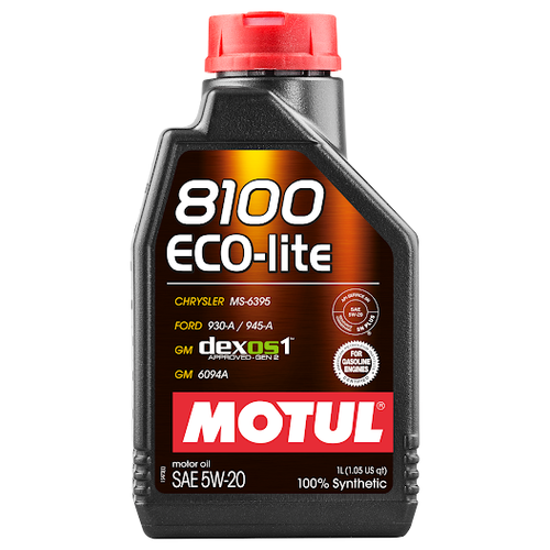 Моторное масло Motul 8100 Eco-lite 5W20 1 л моторное масло motul 8100 eco lite 0w 20 1 л