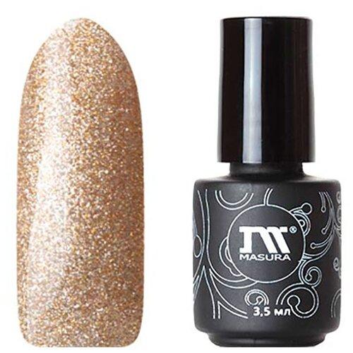 Купить Гель-лак для ногтей Masura Lady, 3.5 мл, Золотой салют