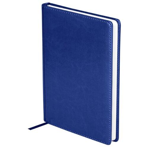 Купить Ежедневник OfficeSpace Nebraska недатированный, искусственная кожа, А5, 136 листов, синий, Ежедневники, записные книжки