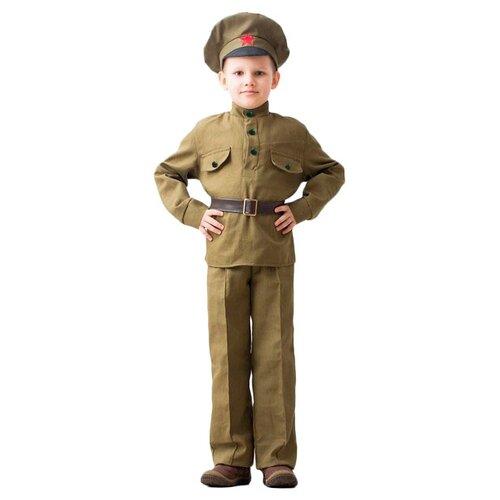 Купить Костюм Бока Сержант, зелeный, размер 140-152, Карнавальные костюмы