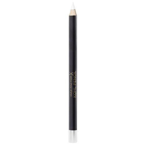 Max Factor Карандаш для глаз Kohl Pencil, оттенок №010 White max factor карандаш для глаз kohl pencil оттенок 050 charcoal grey