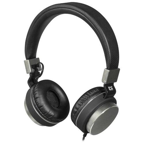 Наушники Defender Accord 165 черный/серый