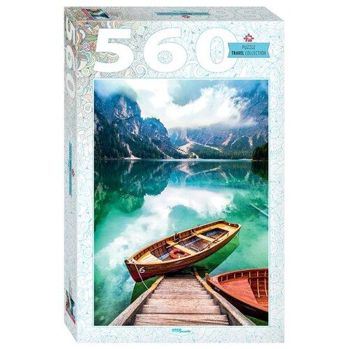 Купить Пазл Step puzzle Италия. Озеро Брайес (78108), 560 дет., Пазлы